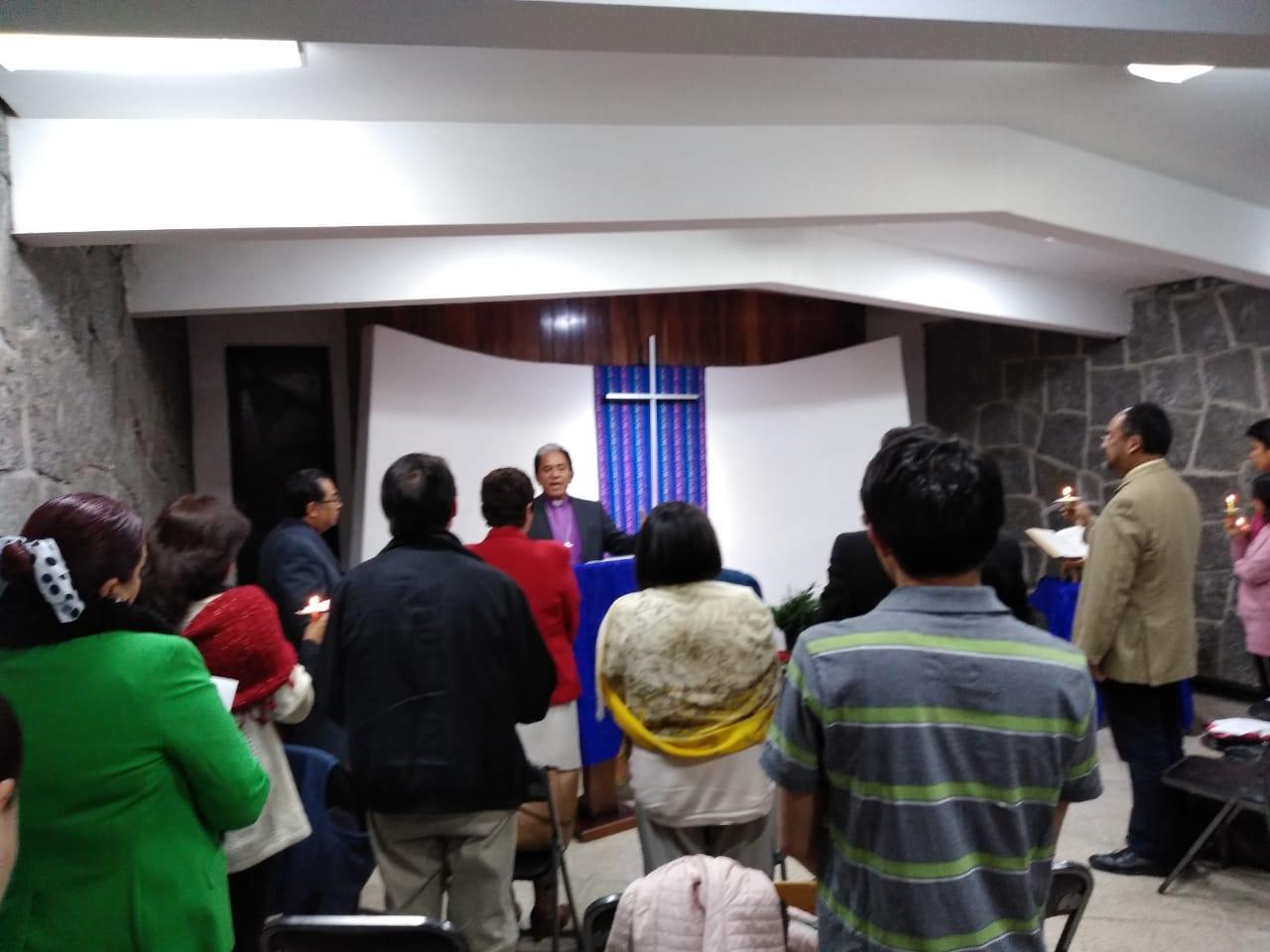 Culto de Luces en el Seminario. 2019